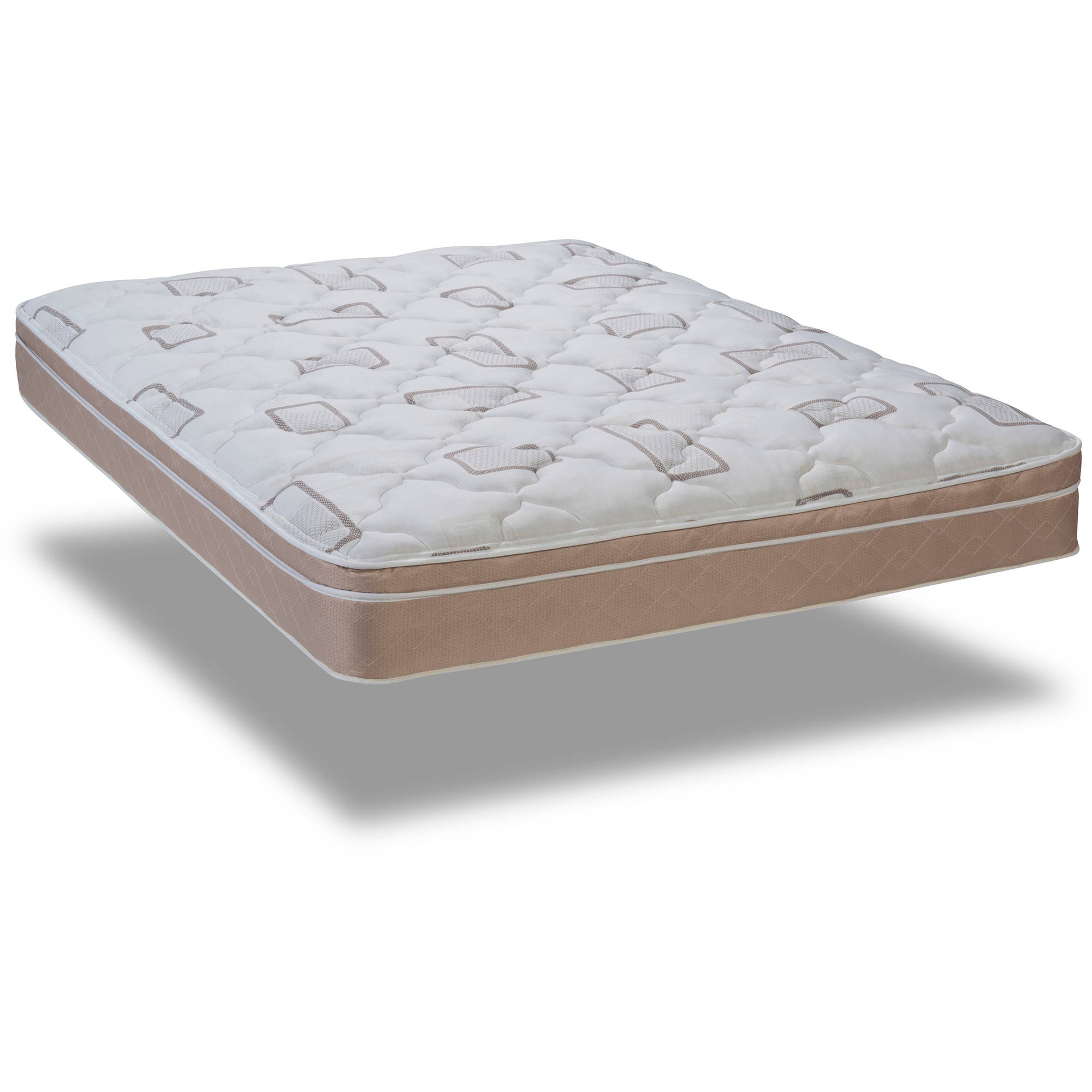 "Wolf Slumber Express Pillow Top Ortho Back Aid 10"" Mattress, Multiple Sizes by Generic"