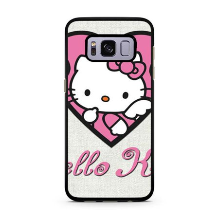 new styles 0ac67 ffb7d Hello Kitty Galaxy S8 Plus Case