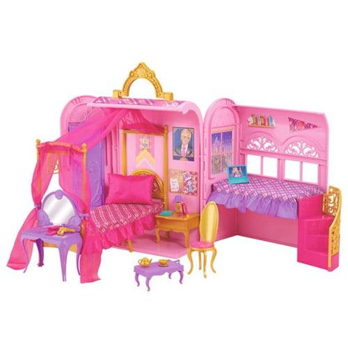 Barbie Princess Charm School Royal Bed & Bath Play Set
