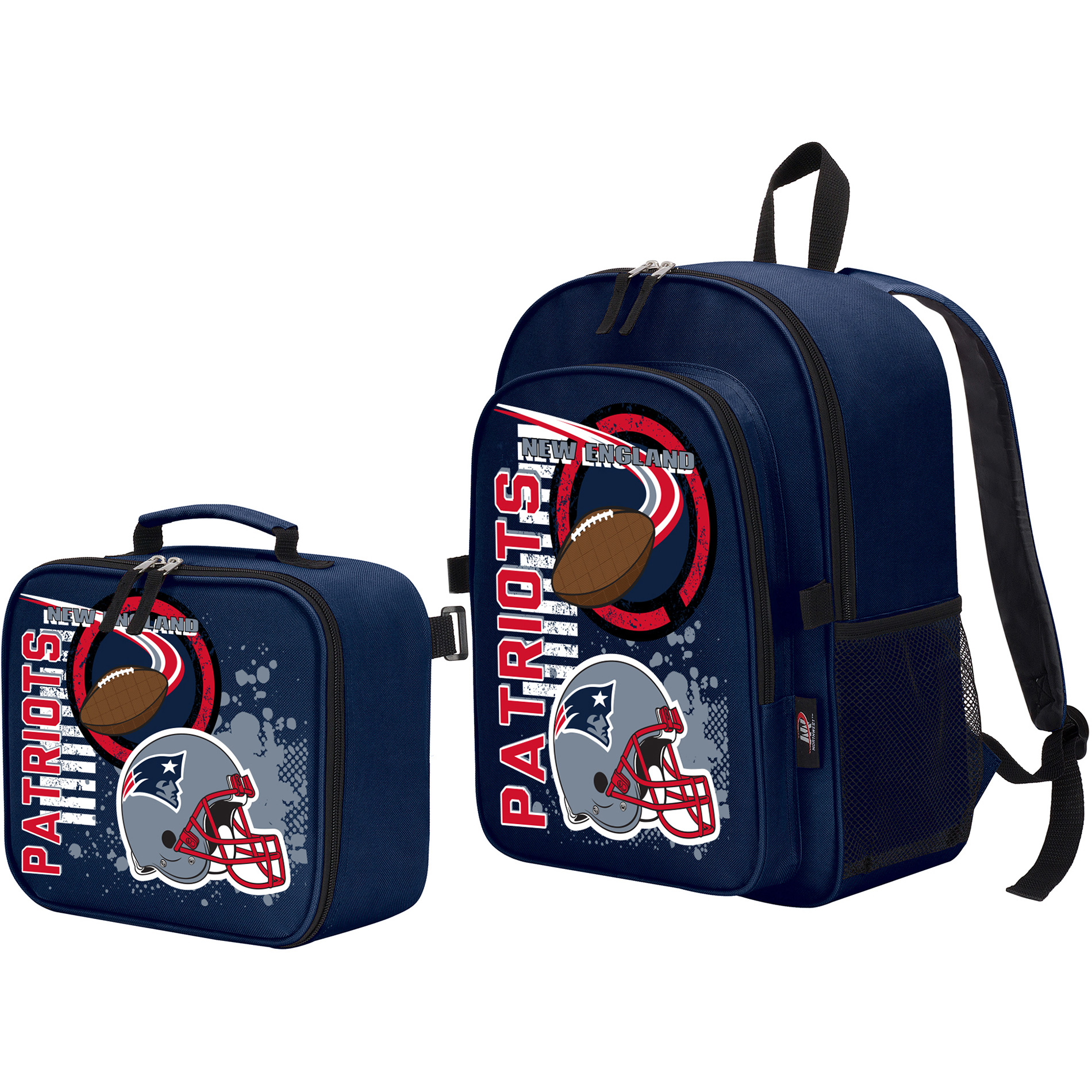 The Northwest Company New England Patriots Accelerator Backpack & Lunchbox - No Size
