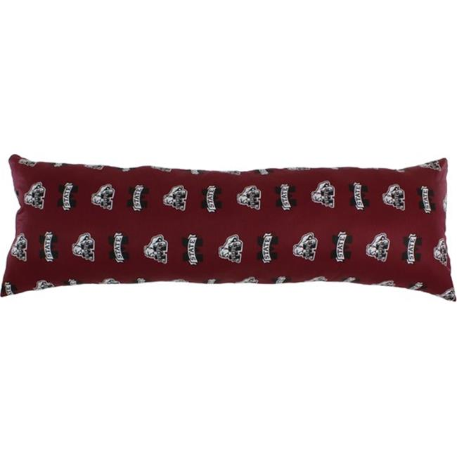 20 x 60 in. Mississippi State Bulldogs Printed Body Pillow