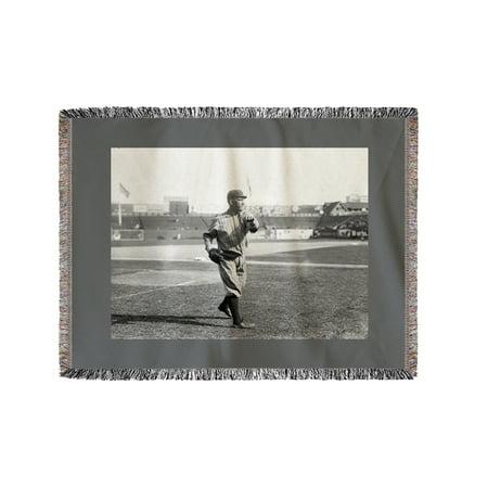 Dover Blanket - Frank Allen, Brooklyn Dodgers, Baseball Photo (60x80 Woven Chenille Yarn Blanket)