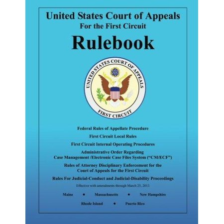 Rulebook: United States Court of Appeals: For the First Circuit - image 1 de 1