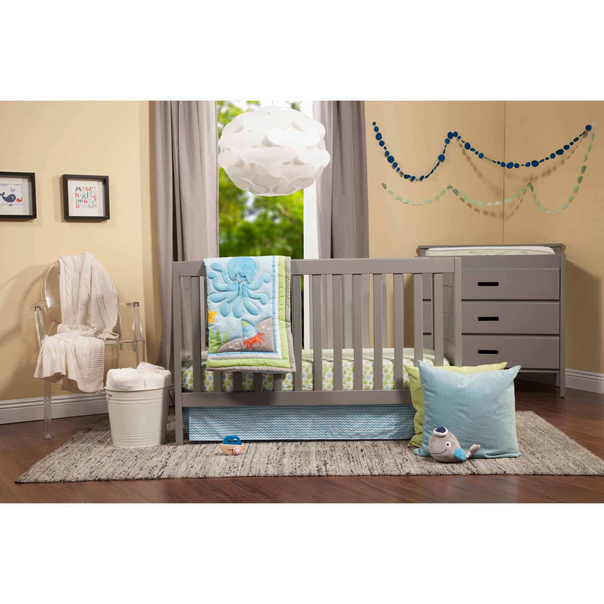 Baby Mod Marley 3 In 1 Convertible Crib And Modena 3 Drawer Changing Table,  Choose Your Finish   Walmart.com