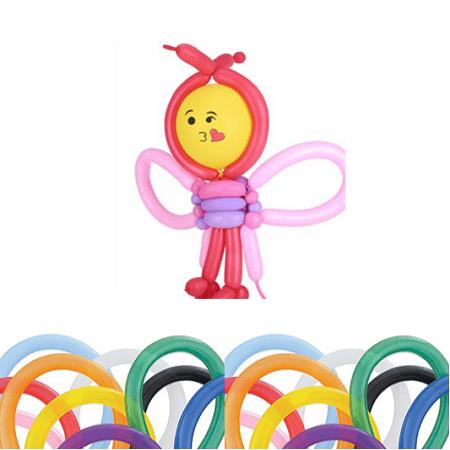 100x Mixed color Magic Long Animal Tying Making Balloons twist Latex Balloon