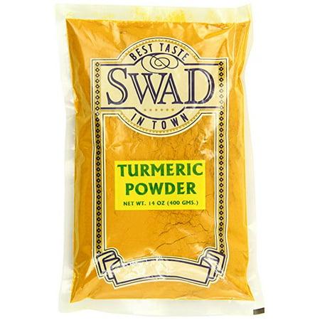 Swad Indian Spice Turmeric Haldi Powder  14 Ounce