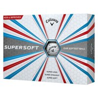 Callaway 2017 Supersoft Golf Balls, Prior Generation, 12 Pack
