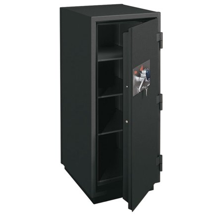 Rated Records Safes (KR5021-2GRE 2-Hour Fireproof 11.2 Cubic ft. Capacity Record Safe With Electronic Lock & 3 Shelf Graphite File Cabinet )