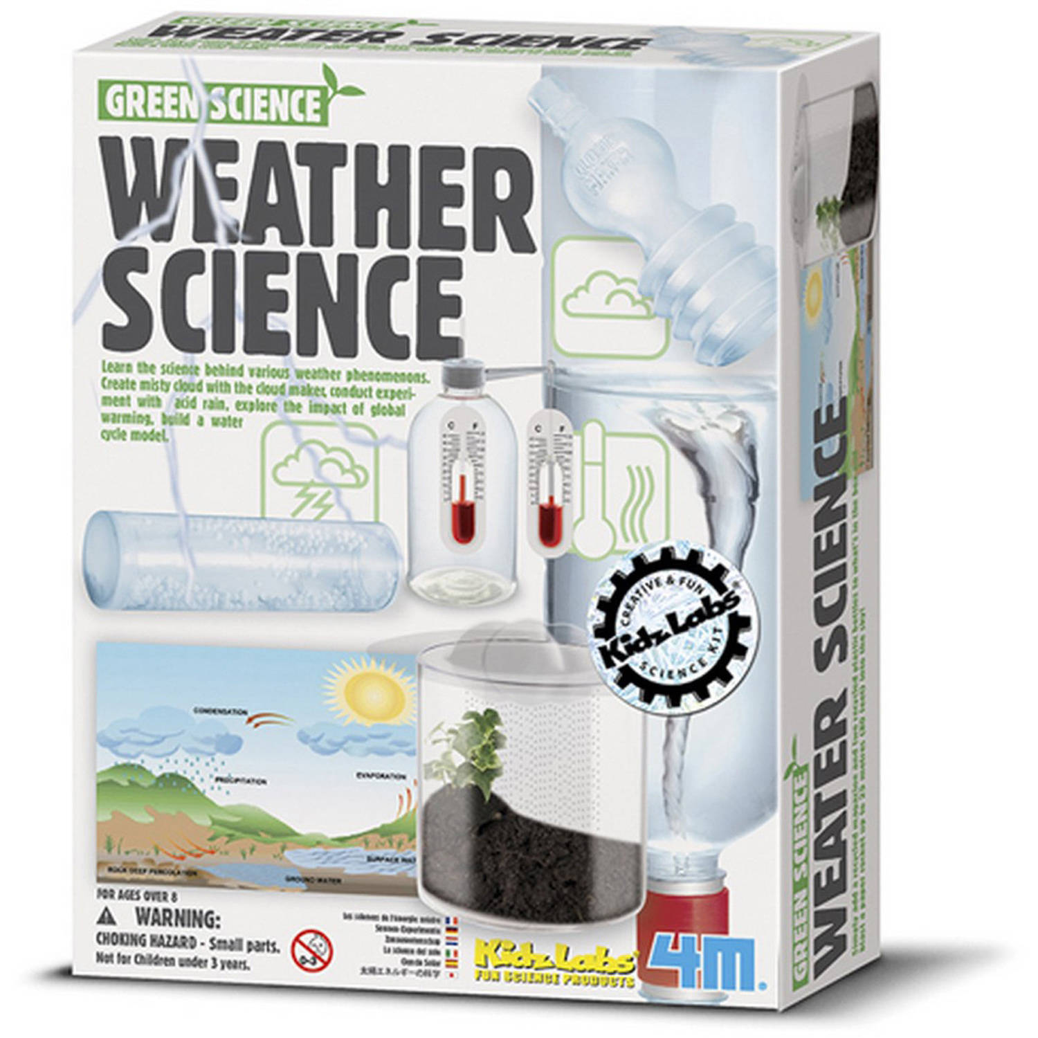 4M KidsLabs Weather Science Science Kit