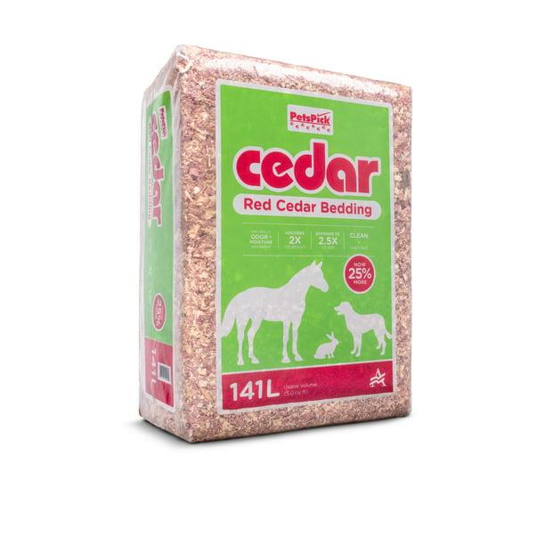 Pets Pick 141l Cedar Bedding Better, Can Rabbits Have Red Cedar Bedding