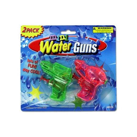 Kole Imports KM125-48 Mini Water Guns - Pack of 48
