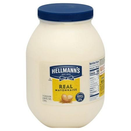Hellmann's Real Mayonnaise, 128 oz