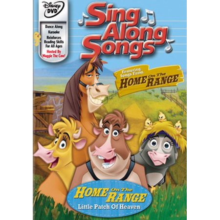 Sing Along Songs: Home On The Range (DVD)