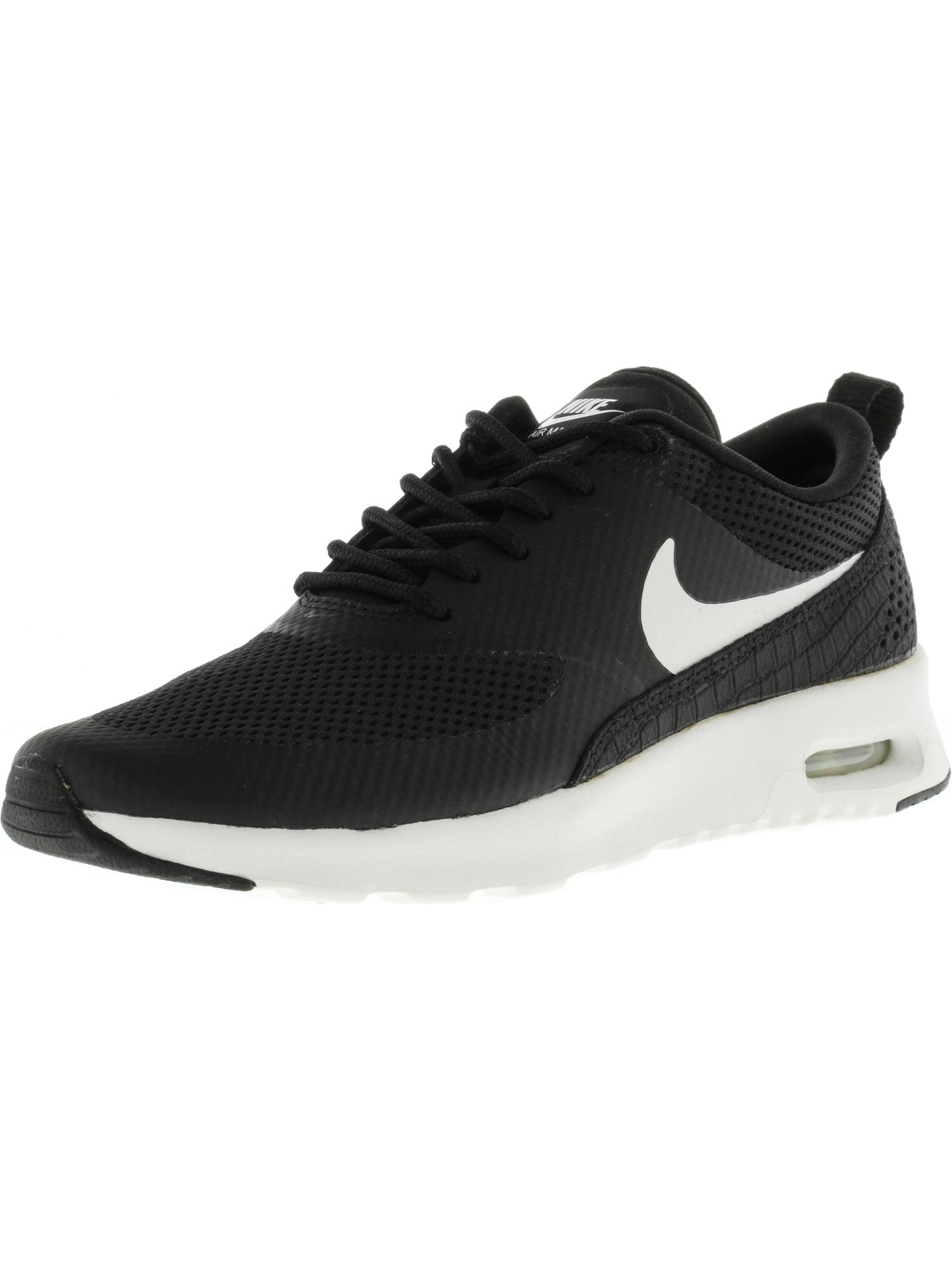 Nike Women's Air Max Thea Black / Summit White Ankle-High Running Shoe - 8M