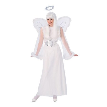 Snow Angel Adult Costume - Angel Of Death Costume Ideas