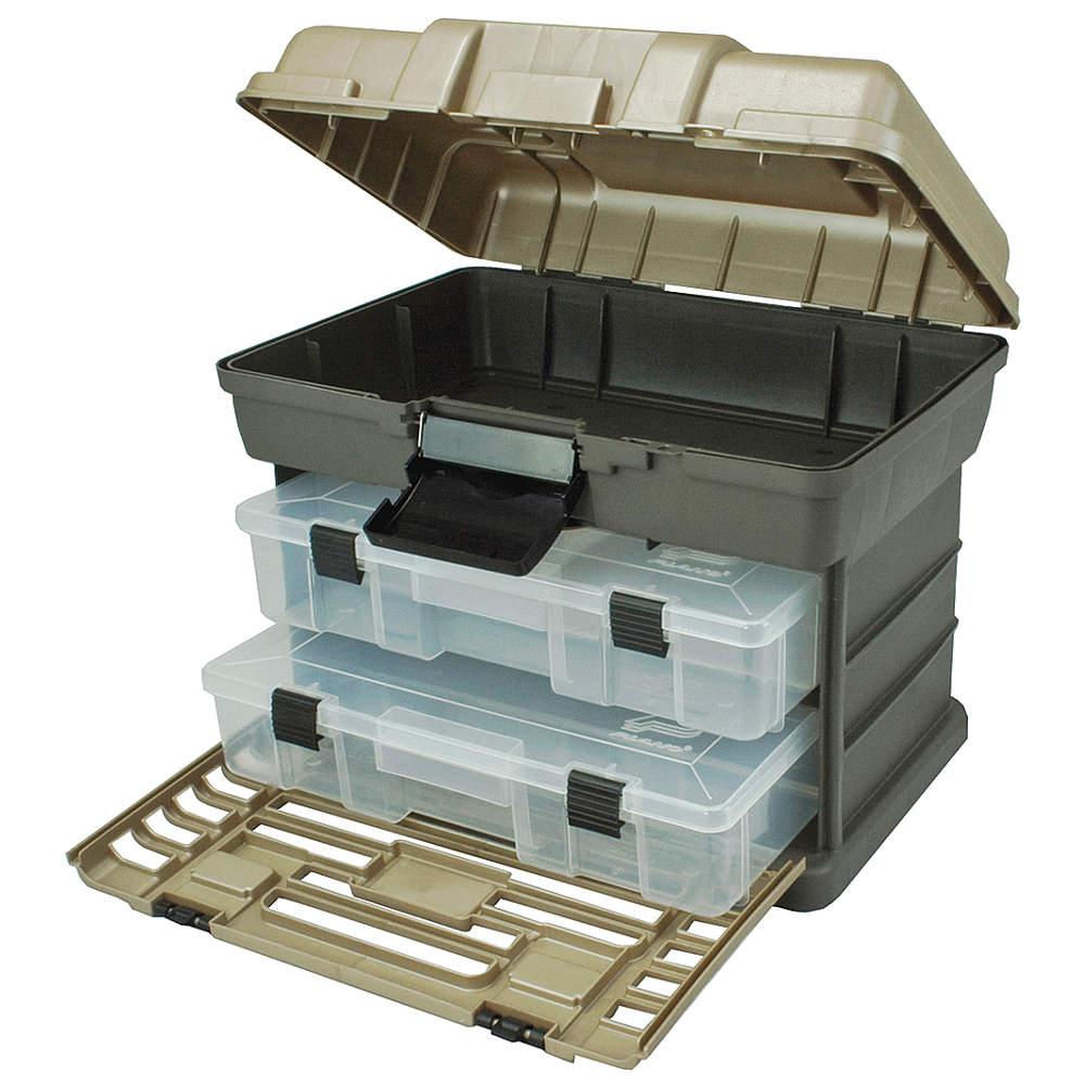PLANO MOLDING Portable Tool Box, Polprpyln, 13-3/8In. W 137230