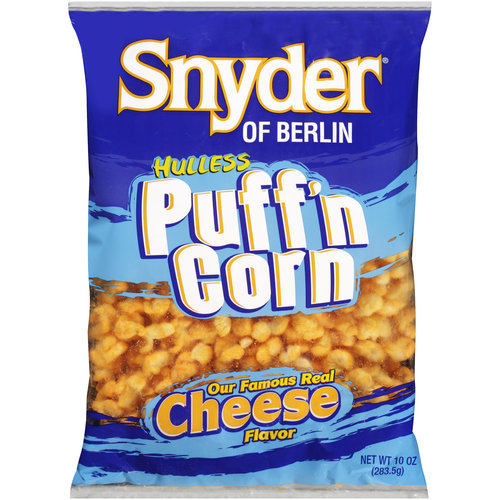 Snyder of Berlin Puffed Hulless Cheese Flavor Popcorn, 10 oz