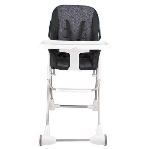 Evenflo Symmetry Flat Fold High Chair, Spearmint Spree by Evenflo