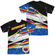 Atari - Asteroids Arcade (Front/Back Print) - Short Sleeve Shirt - XXX-Large