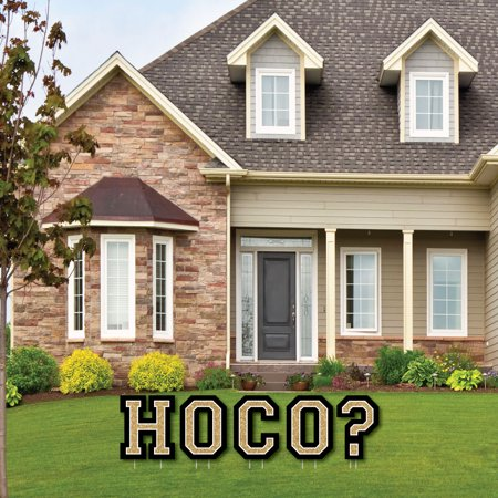 HOCO Dance Proposal - Yard Sign Outdoor Lawn Decorations - Homecoming Proposal Yard Signs - HOCO