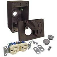 Bell Tamper Resistant Outdoor Outlet Kit