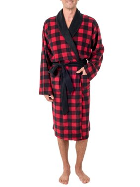 Product Image Fruit of the Loom Men s Fleece Shawl Collar Robe ed8a548e5