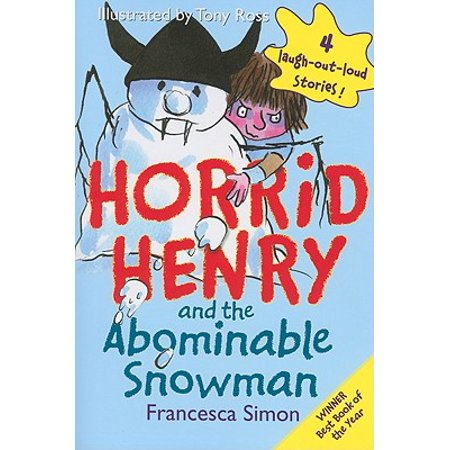 Horrid Henry and the Abominable Snowman (Abominable Snowman Decoration)
