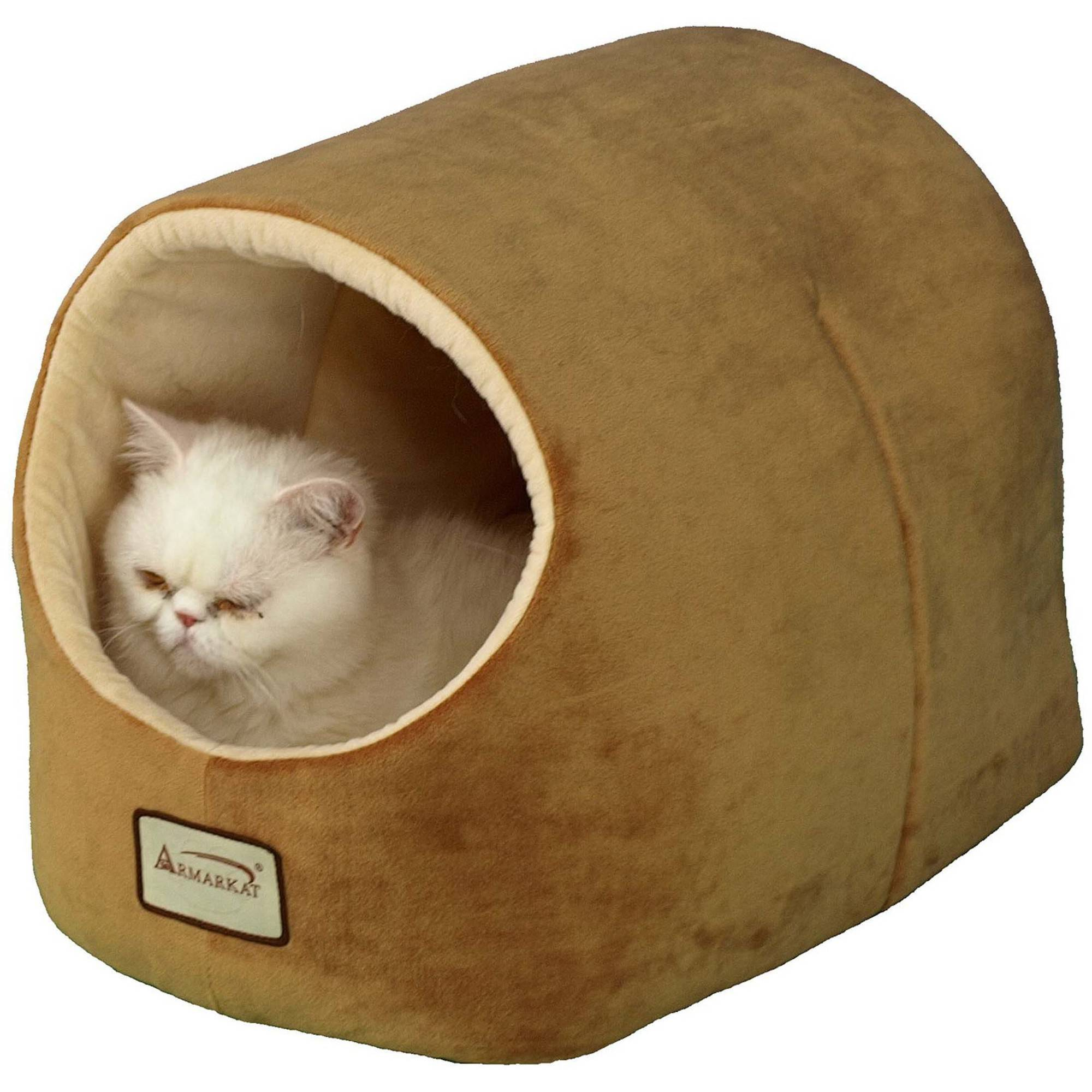 Armarkat Cat Bed, 18-Inch Long, Brown, C11CZS/MH