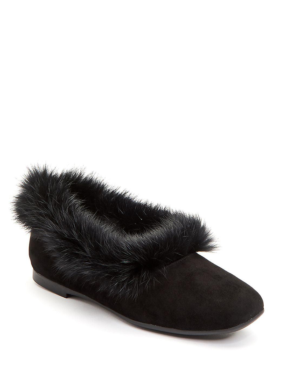 Ryanne Faux Fur-Trimmed Boots
