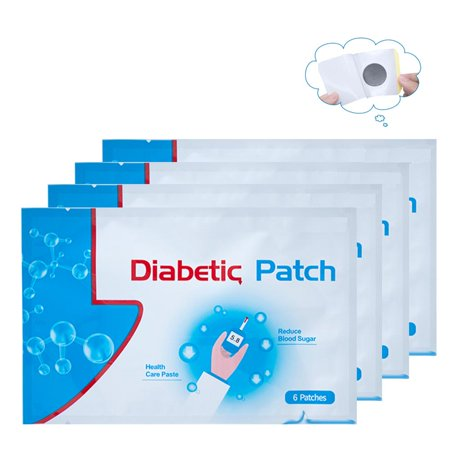 6Pcs/Bag Diabetic Patch Stabilizes Blood Sugar Balance Glucose