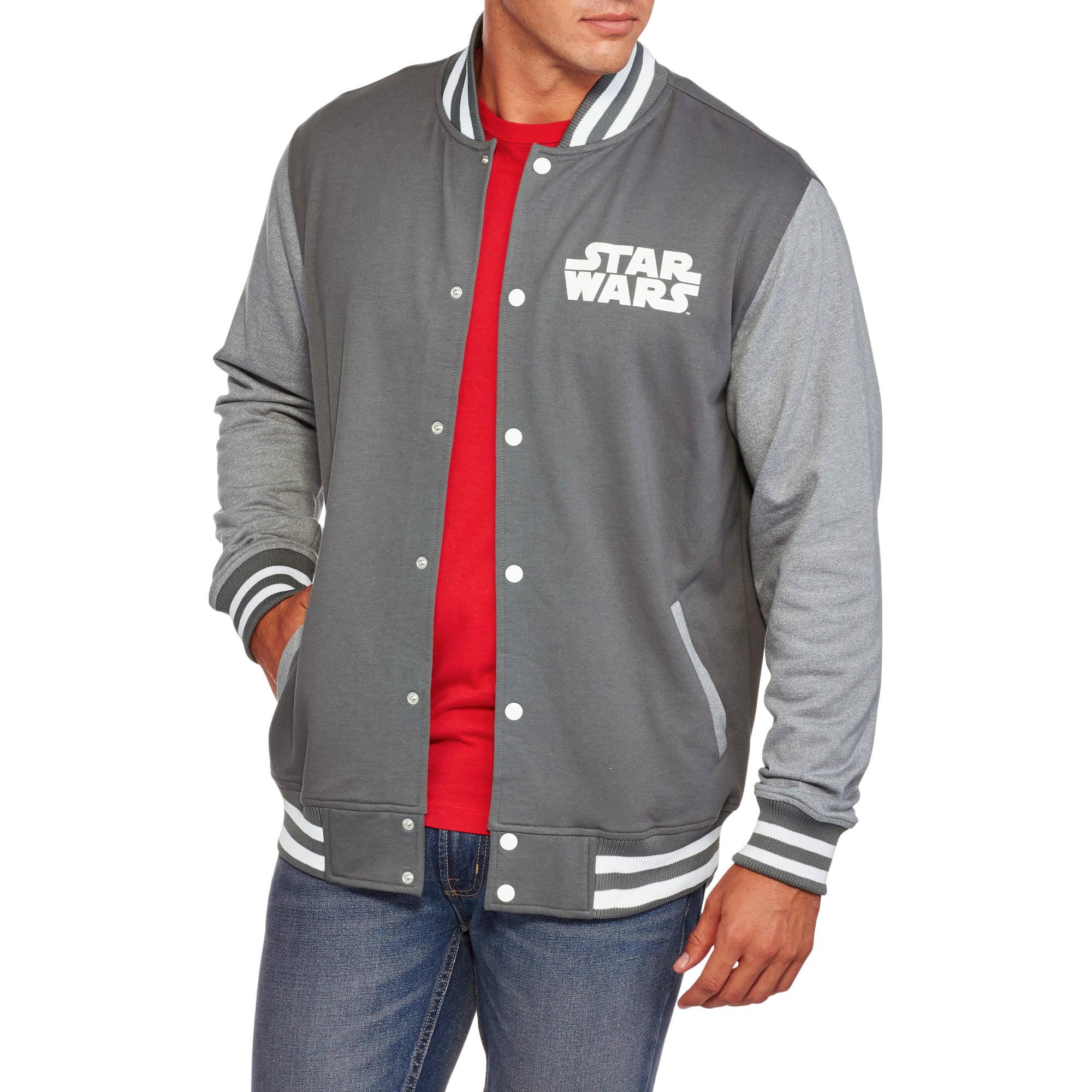 Star Wars Big Men's Varsity Jacket, 2XL