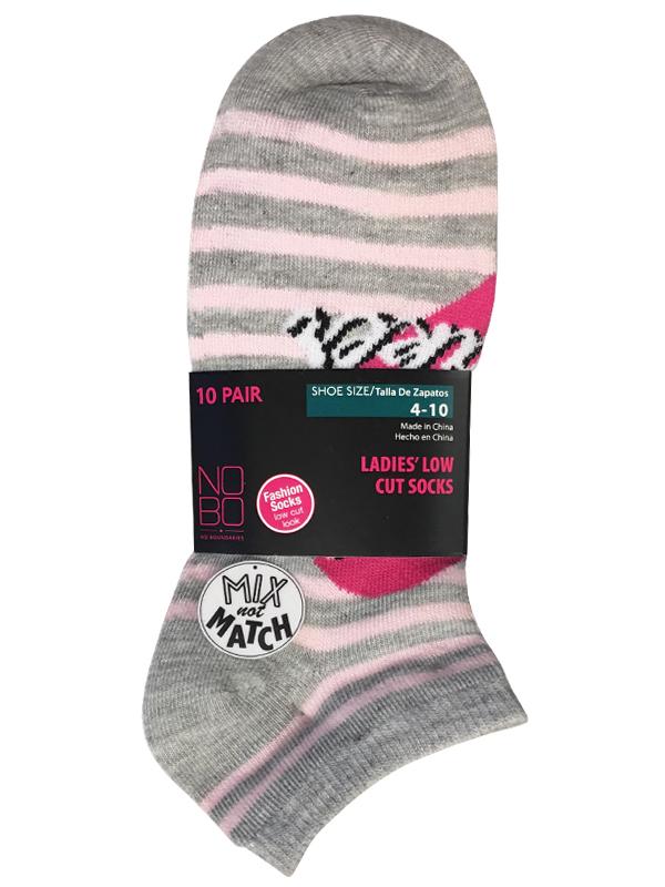 Nobo 20pc Low Cut Mnm Socks