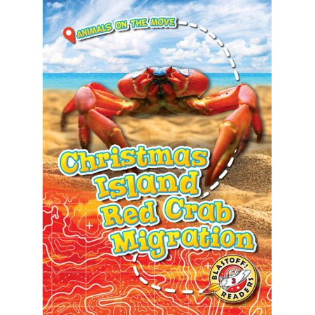 Christmas Island Red Crab.Christmas Island Red Crab Migration