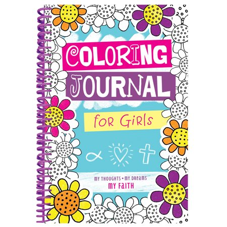 Journals For Girls (Coloring Journal for Girls)