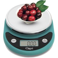 Ozeri ZK14-T Pronto Digital Multifunction Kitchen and Food Scale (Teal Blue)