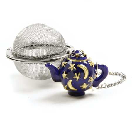 Norpro Stainless Steel Tea Infuser Tea Pot Ornament Decorative Steel Mesh New
