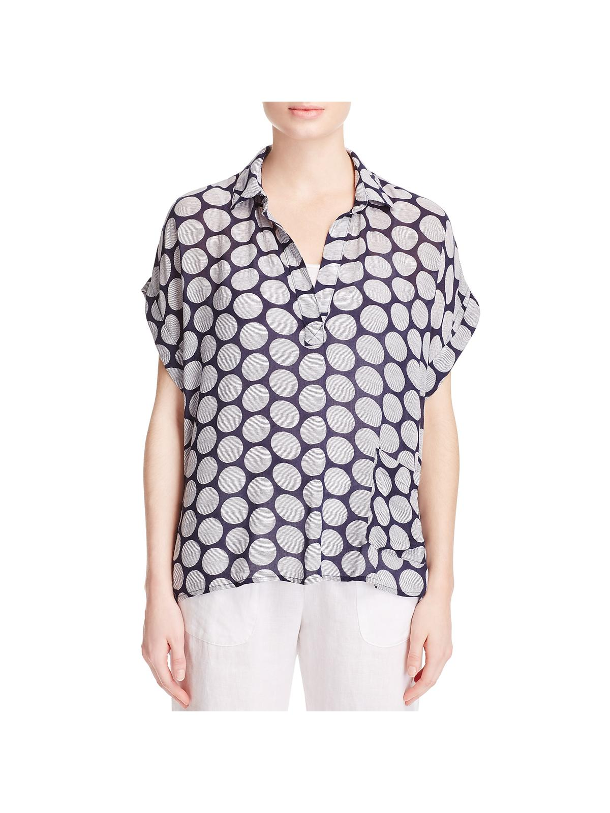 1.State Womens One Shoulder Cut-Out Day to Night Pullover Top Shirt BHFO 9559