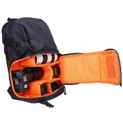 Cheerwing Travel Camera Backpack Bag Case for DSLR SLR Canon EOS Rebel, Nikon, Sony, Panasonic, Olympus, Pentax