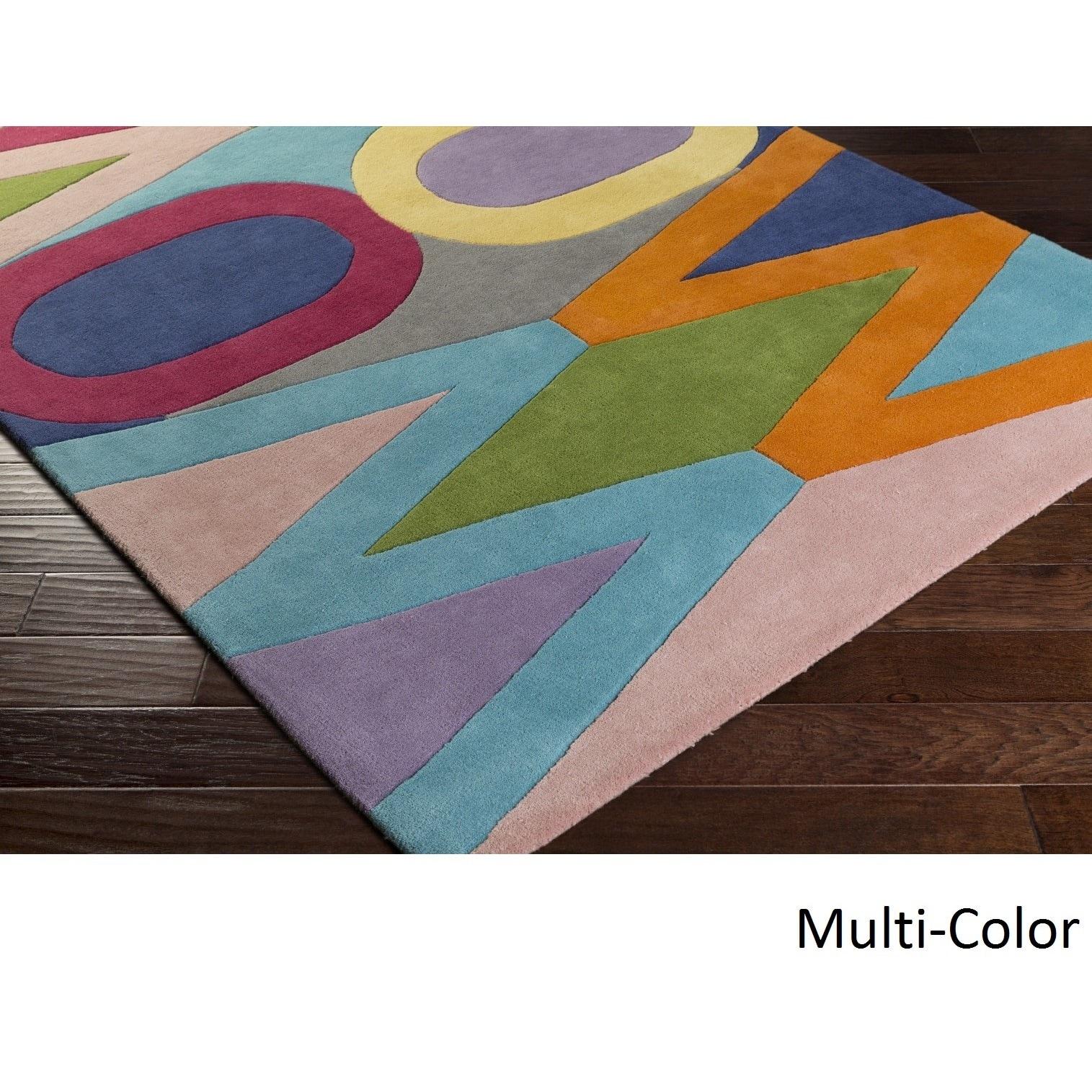 Hand-Tufted Ellijay Wool Rug (5' x 7'6)