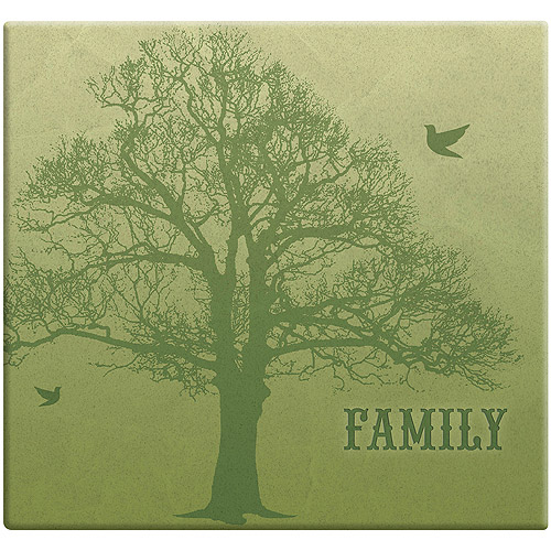 MBI Family Tree Post Bound Scrapbook, 12 by 12-Inch Multi-Colored