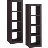 Set of 2 Better Homes and Gardens 4-Cube Organizer