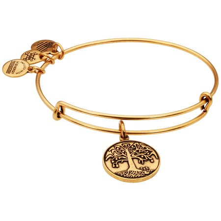 Alex And Ani Tree Of Life Charm Rafaelian Gold Finish Bangle Bracelet A12EB10RG (Alex And Ani Jewelry)