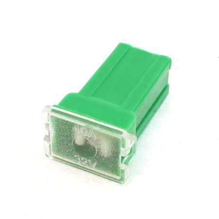 Unique Bargains 40A Green Plastic Pacific Type Slow Blow  Female Fuse for SUV