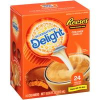 International Delight Reese's Peanut Butter Creamer Singles, 24 count (6 Pack)