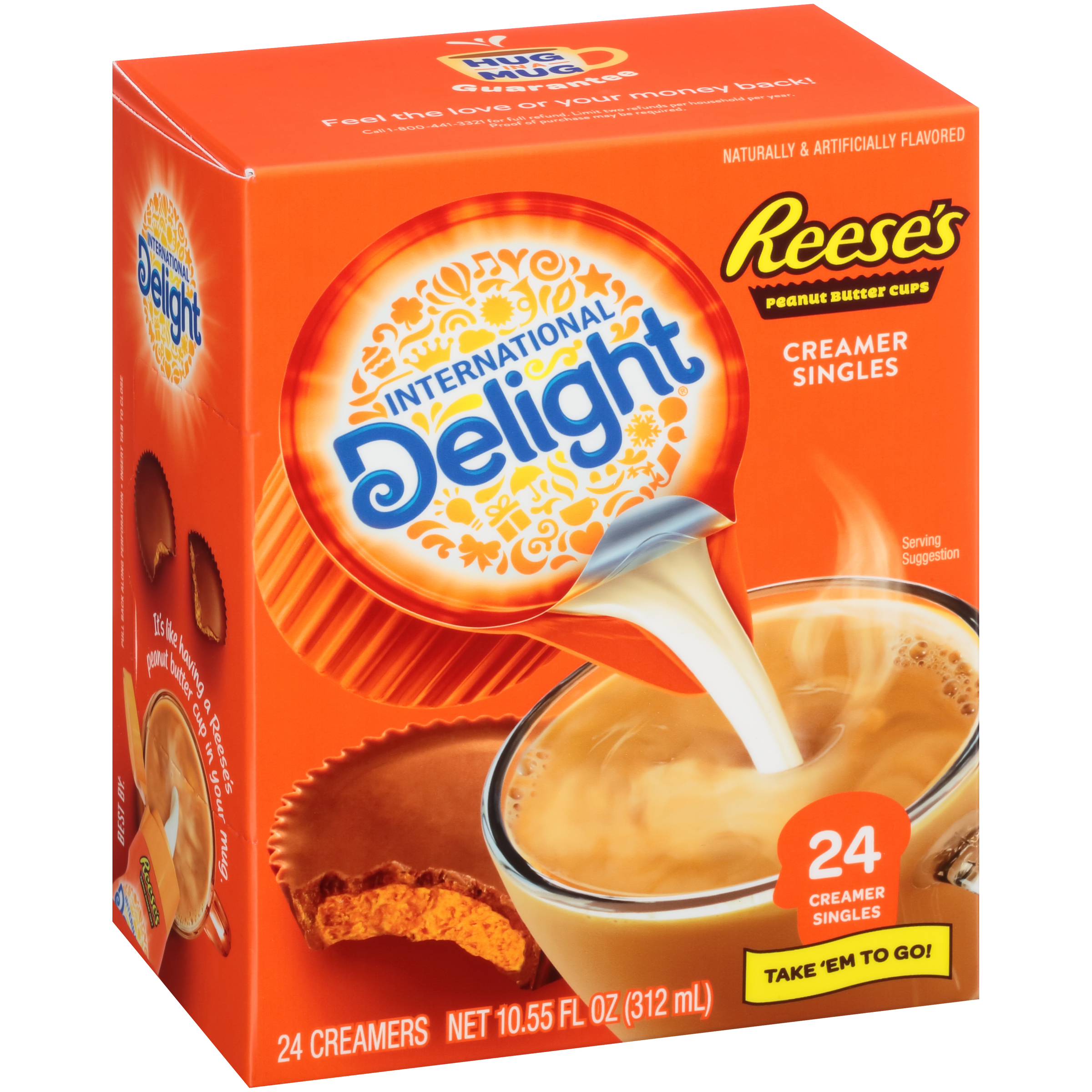 International Delight Reese's Peanut Butter Cup Creamers, 24 Ct