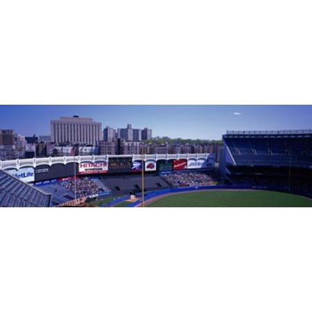 Yankee Stadium NY USA Stretched Canvas - Panoramic Images (18 x 6)