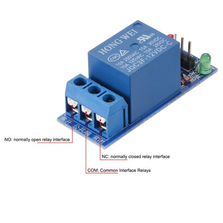 DC 12V Relay Module 1 Channel Low Lever Trigger for Arduino UNO R3 A Channel V Relay Wiring on