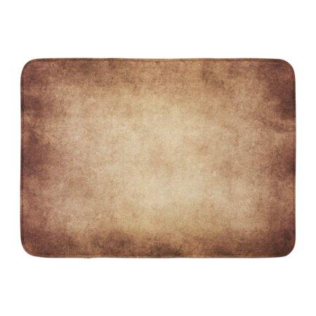GODPOK Drawing Antique Vintage Tan Brown Parchment Color Free Rug Doormat Bath Mat 23.6x15.7 inch