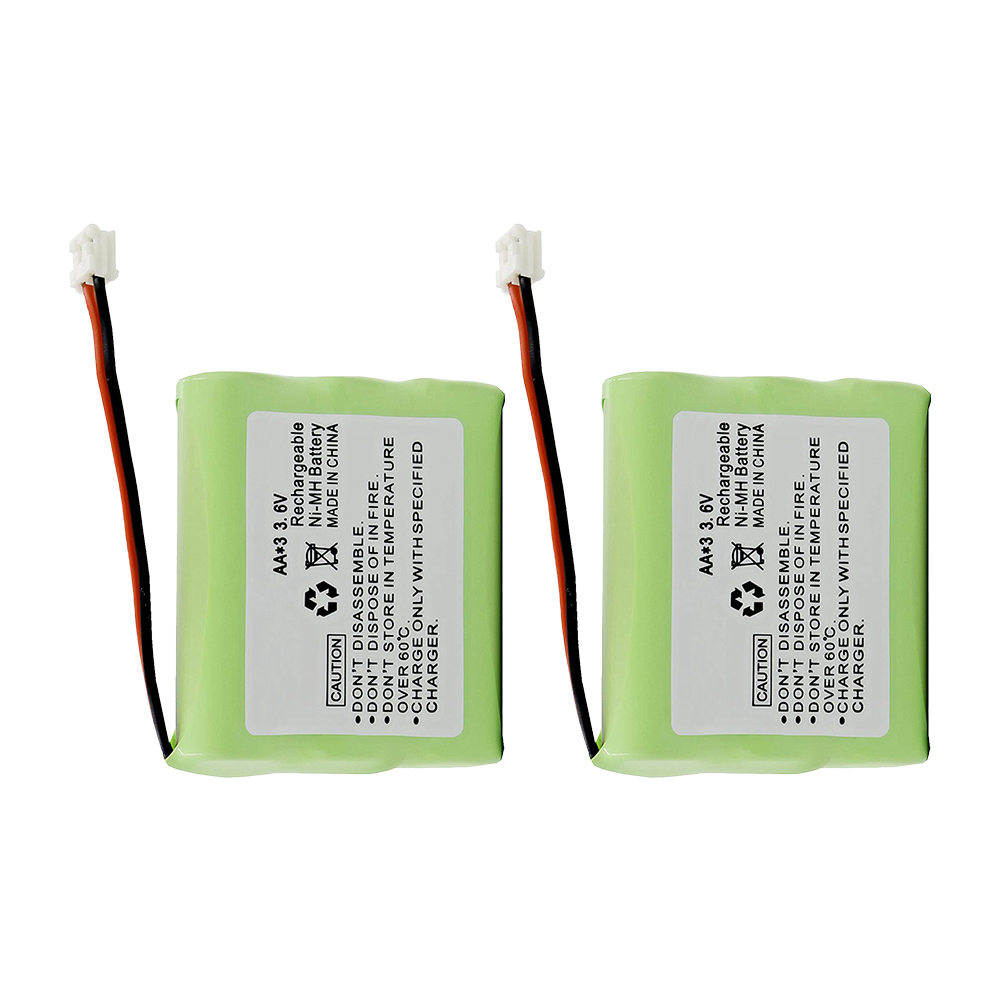Replacement For Motorola 3300 Cordless Phone Battery - 2 Pack