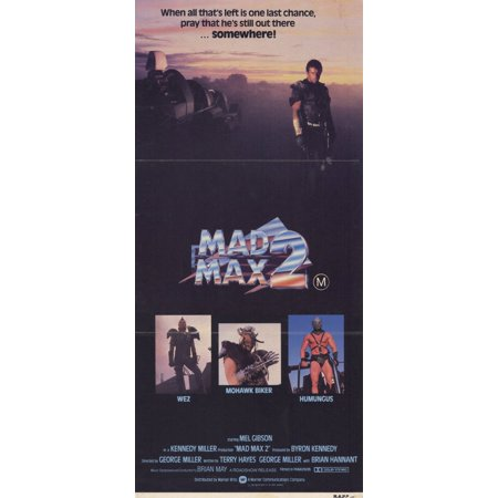 Mad Max 2: The Road Warrior (1982) 11x17 Movie